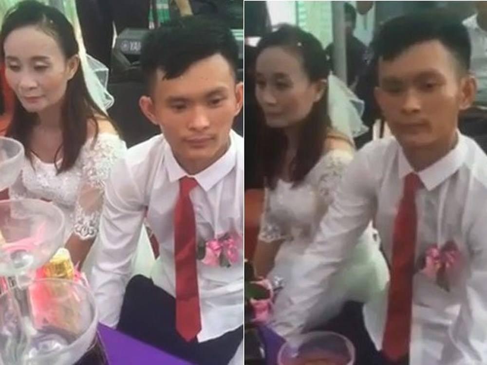 Hôn lễ của cặp đôi chú rể kém cô dâu 11 tuổi ở Nghệ An.
