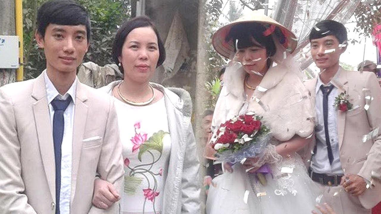 Đám cưới chú rể kém cô dâu 13 tuổi ở Thanh Hoá gây xôn xao.