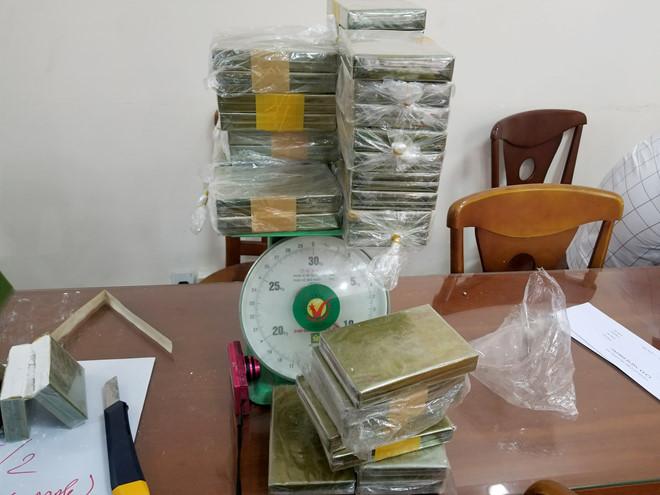 Đây là vụ án có lượng ma túy thu giữ lớn nhất từ trước đến nay tại TP.HCM. Ảnh: Công an cung cấp.