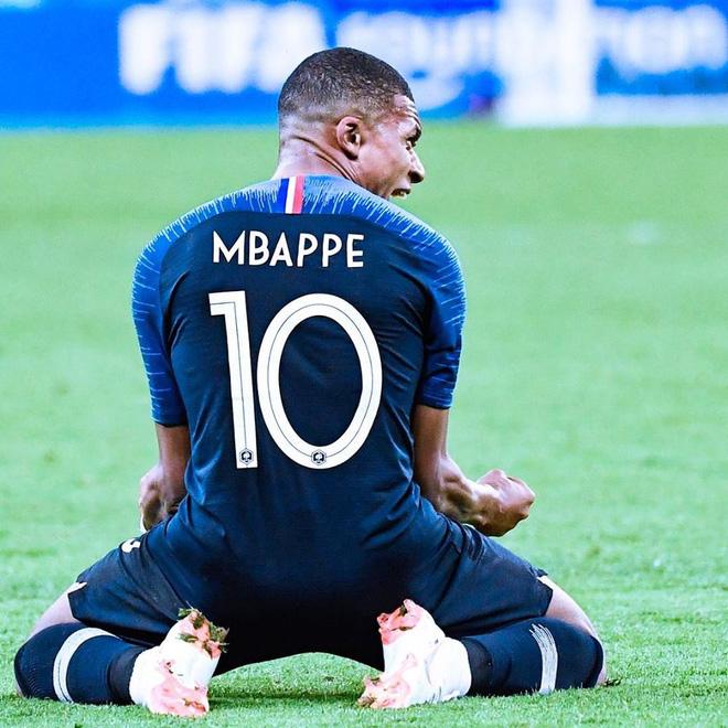 Mbappe cùng ĐT Pháp đã lên ngôi vô địch World Cup.