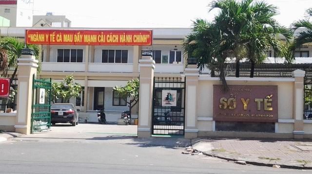 Trụ sở sở Y tế tỉnh Cà Mau.