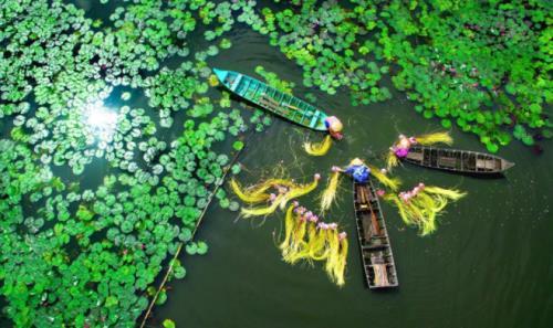 Du lịch An Giang dịp lễ 2/9. Ảnh: Circuit au Vietnam