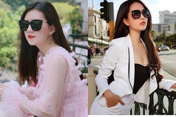 Khi cả hai cùng đeo kính, Minh Nguyệt - Ngọc Trinh dễ khiến nhiều người nhầm lẫn là