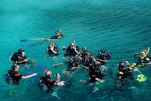 Lặn biển ở Nha Trang