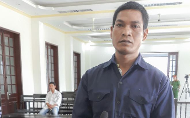 Bị cáo tại phiên xét xử.