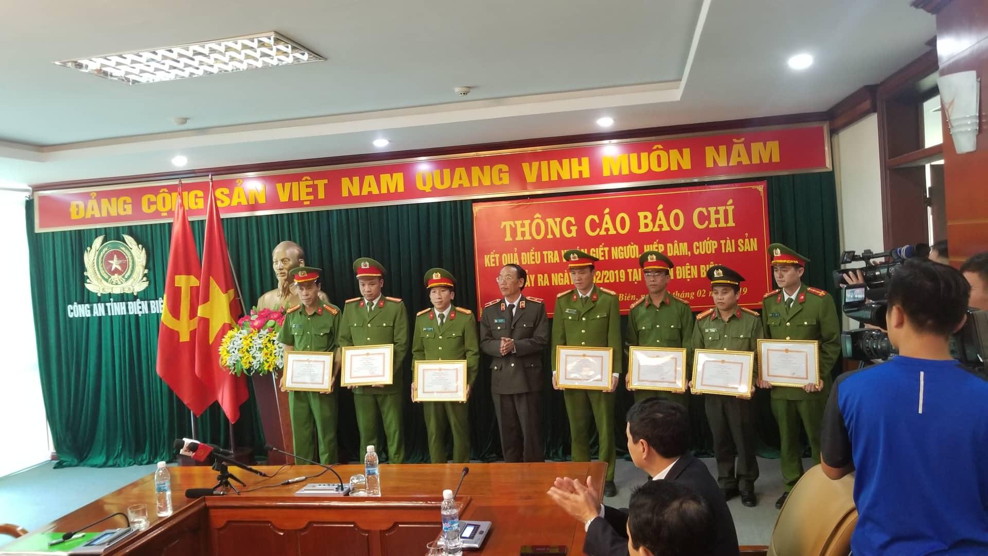 Ban chuyên án được công an tỉnh Điện Biên khen thưởng.