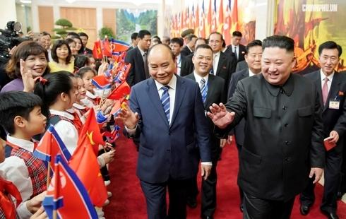 Thủ tướng Nguyễn Xuân Phúc và Chủ tịch Kim Jong Un