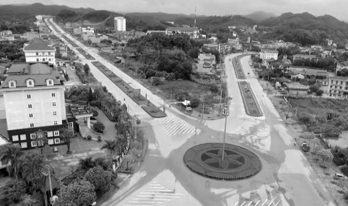 Một góc TP Yên Bái.