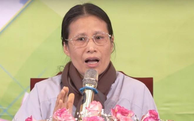 Bà Phạm Thị Yến. Ảnh: cắt từ clip.
