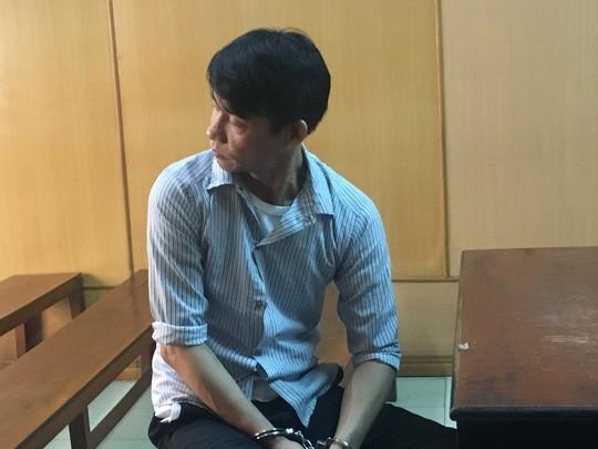 Bị cáo Diệp Cẩm Minh tại phiên tòa