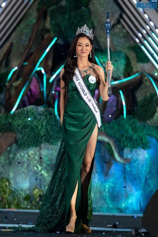 Lương Thùy Linh đăng quang Hoa hậu Thế giới Việt Nam - Miss World Việt Nam 2019.