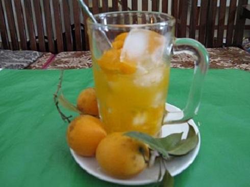 Thanh trà dầm nước đá là thức uống giúp thanh nhiệt cơ thể. Ảnh: amthuc