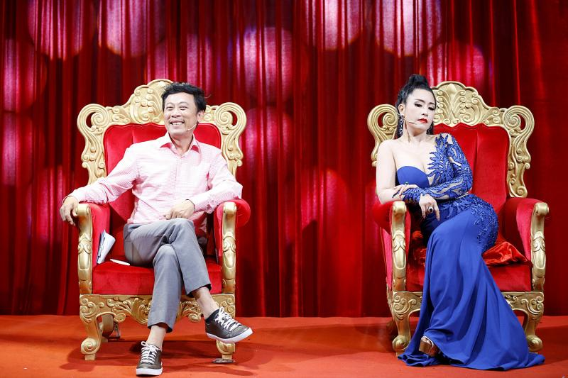 Giám khảo Vân Sơn và Kiều Oanh
