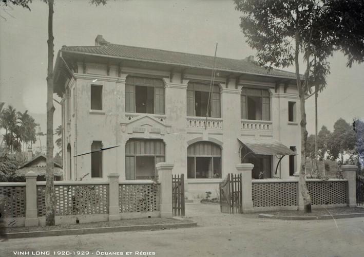Tòa nhà Sở thuế Vĩnh Long. Ảnh tư liệu.