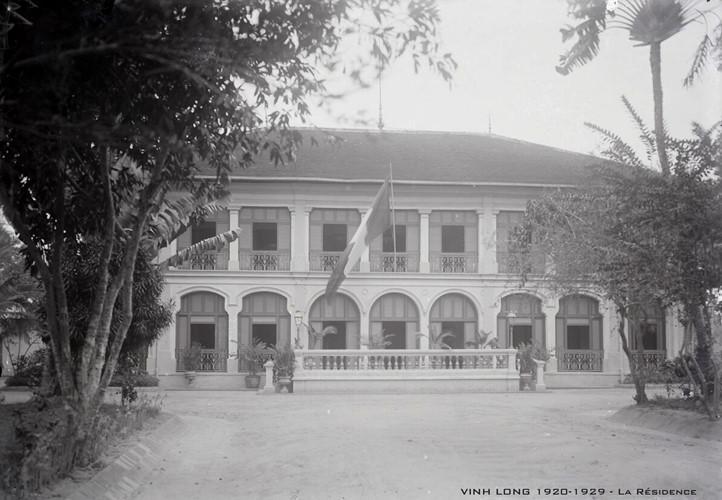 Dinh Công sứ Pháp ở Vĩnh Long. Ảnh tư liệu.