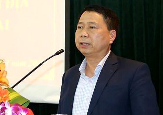 Ông Nguyễn Hồng Lâm, Chủ tịch UBND huyện Quốc Oai. Ảnh: Cổng thông tin điện tử huyện Quốc Oai.
