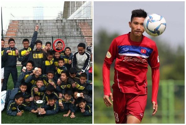 Đoàn Văn Hậu (19 tuổi, Thái Bình) là cầu thủ trưởng thành từ lò đào đạo câu lạc bộ bóng đá Hà Nội. Anh được gọi vào đội tuyển quốc gia khi mới 18 tuổi và trở thành cầu thủ trẻ nhất tuyển Việt Nam năm 2017. Văn Hậu từ nhỏ đã tham gia nhiều câu lạc bộ bóng đá ở địa phương.