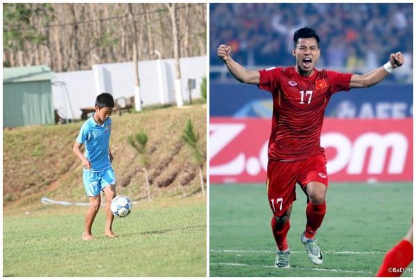Biểu cảm của Vũ Văn Thanh khi ghi sút quả penalty quyết định đưa đội tuyển Việt Nam vào chung kết Giải vô địch bóng đá U23 Châu Á khiến khán giả thấy anh rất