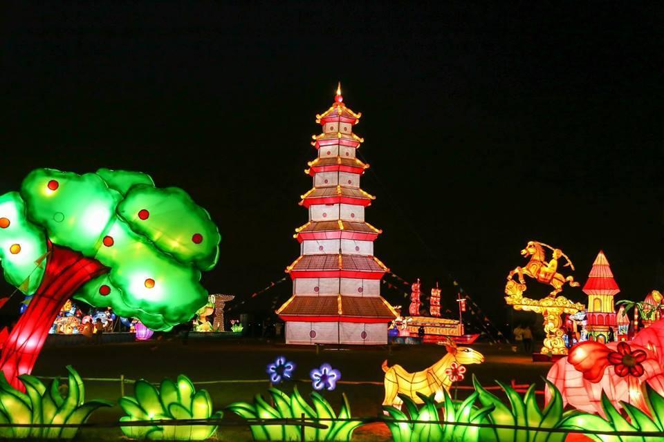 Đây là lễ hội đèn lồng đầu tiên tại Cần Thơ