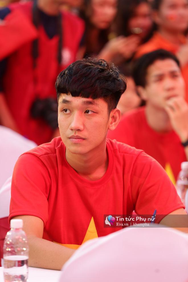 Nguyễn Trọng Đại được coi là hot boy của đội tuyển U23 Việt Nam với nét mặt ngây ngô, dễ thương.