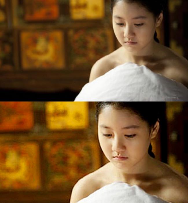 Tuy nhiên chỉ sau đó vài năm, Jin Ji Hee đã gây chấn động với phân cảnh
