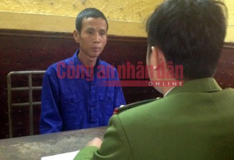 Cơ quan Công an lấy lời khai đối tượng Hoàn Minh Tiến.
