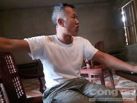 Ông Nguyễn Văn Lợi - Bảo vệ trường tiểu học Vân Trục B cho biết, ông Thu liên tục bỏ dạy trong sáng thứ sáu ngày 21-4