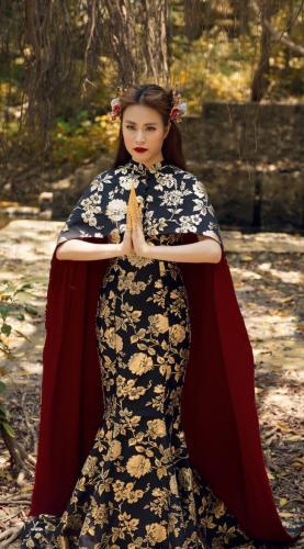 Nét xinh đẹp đậm chất Á Đông của nàng ca sĩ Bánh trôi nước. (Nguồn: Internet)