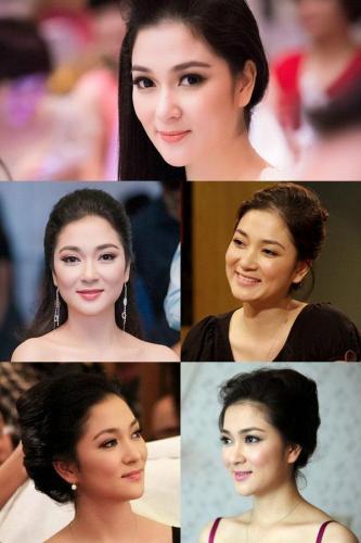 Vẻ đẹp thiên sứ ngọt ngào của Hoa hậu Nguyễn Thị Huyền. (Nguồn: yeah1.com)