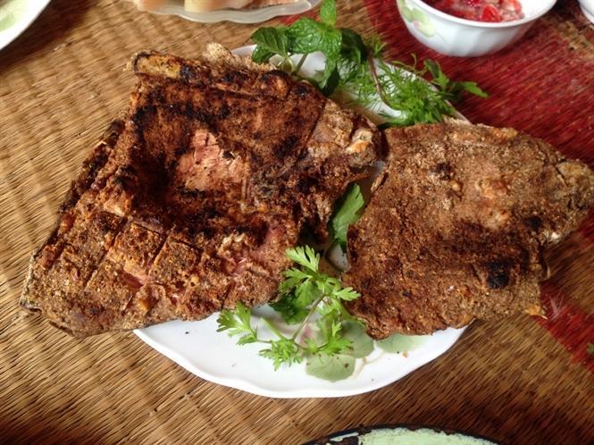 Sản phẩm cá thính sau khi nướng