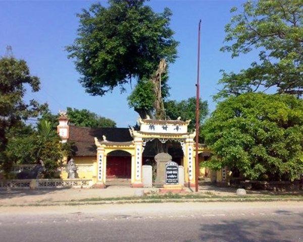 Đền Ngòi - Xã Lũng Hòa (Vĩnh Tường - Vĩnh Phúc) thờ nữ tướng Lê Ngọc Trinh thời Hai Bà Trưng.