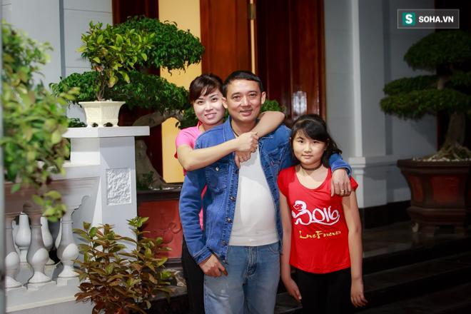 Anh và gia đình chuẩn bị đón vợ 3 về Vĩnh Phúc.
