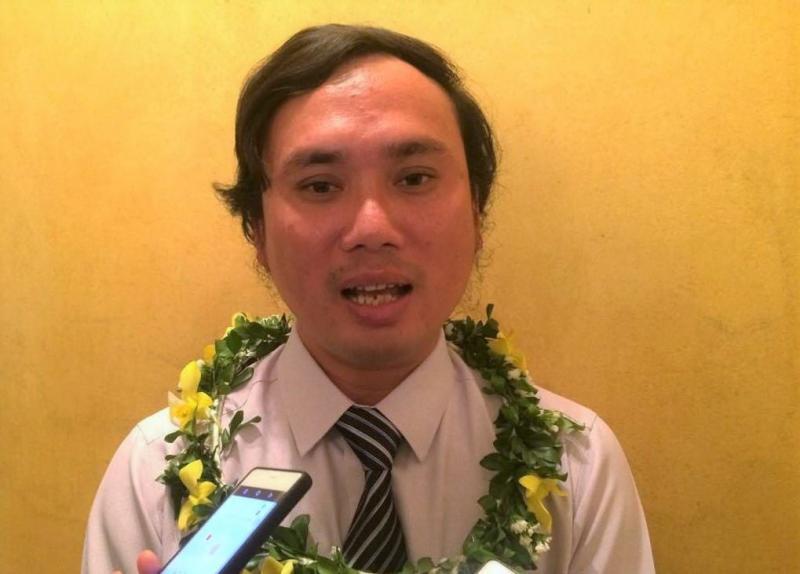 Thầy giáo Ninh Văn Dậu, người thầy