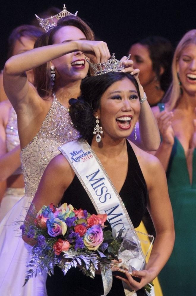 Arianna Quan đăng quang Hoa hậu bang Michigan vào đầu năm nay.
