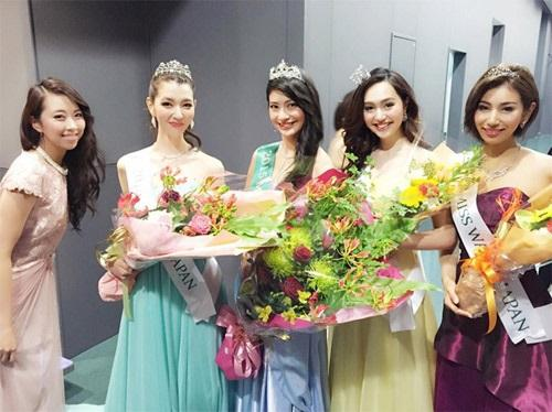 Tại cuộc thi Hoa hậu Trái đất 2015, người đẹp Ayano Yamada đã đăng quang ngôi vị cao nhất.