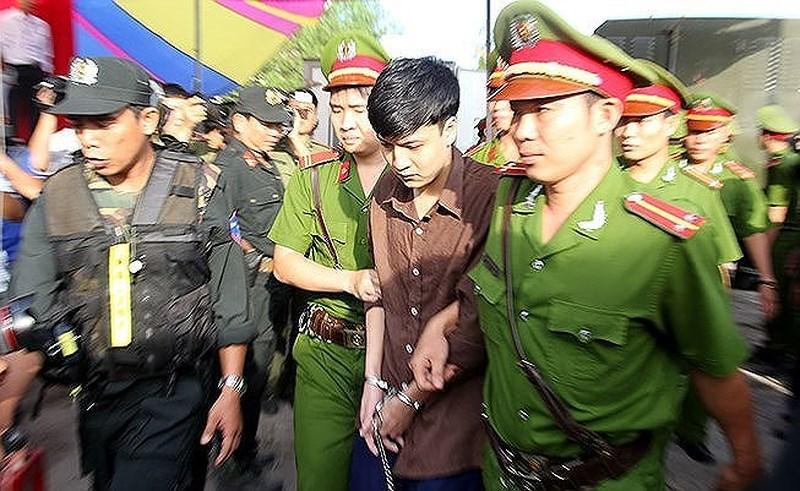 Tử tù Nguyễn Hải Dương .Ảnh: HOÀNG GIANG