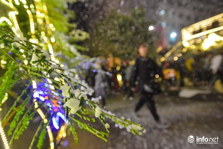 Được biết, tuy đây không phải là năm đầu tiên trường Đại học Thăng Long trang trí giáng sinh lộng lẫy như thế này. Nhưng đây là lần đầu tiên có một cơn mưa tuyết thật sự rơi xuống sân trường đúng dịp giáng sinh.