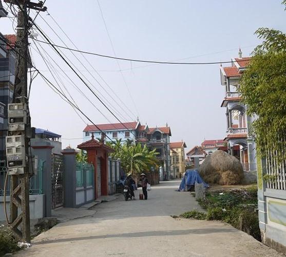Khoảng hơn 10 năm trở lại đây, hơn 90% người dân trong làng đều tập trung lên Hà Nội buôn bán thịt lợn.