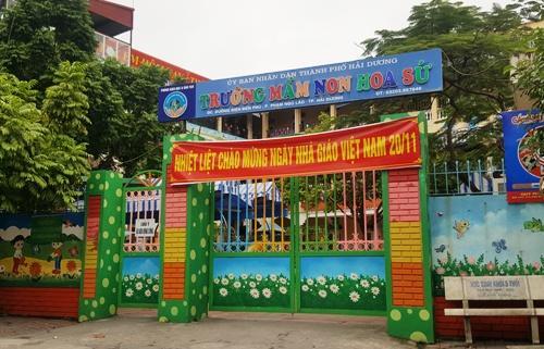 Trong gần 1.200 giáo viên hợp đồng của tỉnh Hải Dương chưa được nhận lương, nhiều cô giáo mầm non của thành phố Hải Dương đã xin nghỉ việc. Ảnh: Giang Chinh