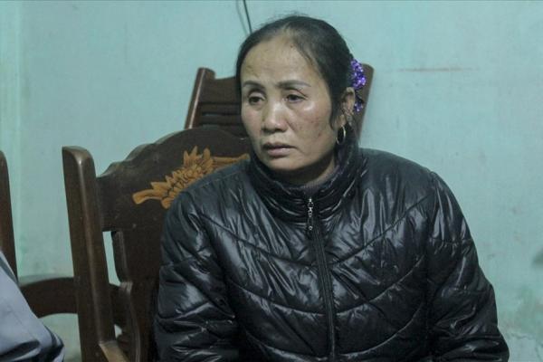 Bà Nguyễn Thị Rộng (mẹ anh Dự) chia sẻ cùng PV. Ảnh Trần Vương