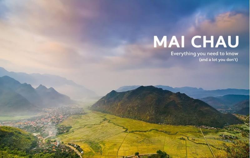 Mai Châu rất gần Hà Nội, phù hợp đi du lịch ngắn ngày. Ảnh minh họa