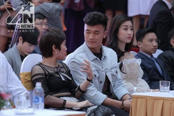 Thủ thành họ Bùi chỉ mới đến Hà Nội không lâu trước khi đến tham dự sự kiện nói trên.