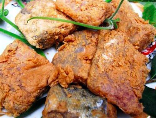 Đặc sản cá thính Lập Thạch. Ảnh: Trần Trung - TTXVN