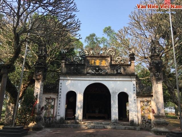 Ngôi đền thiêng thờ nữ tướng quân tài ba đã tồn tại cách đây vài trăm năm