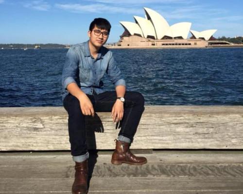 Lê Đức Anh đang học thạc sĩ tại Úc
