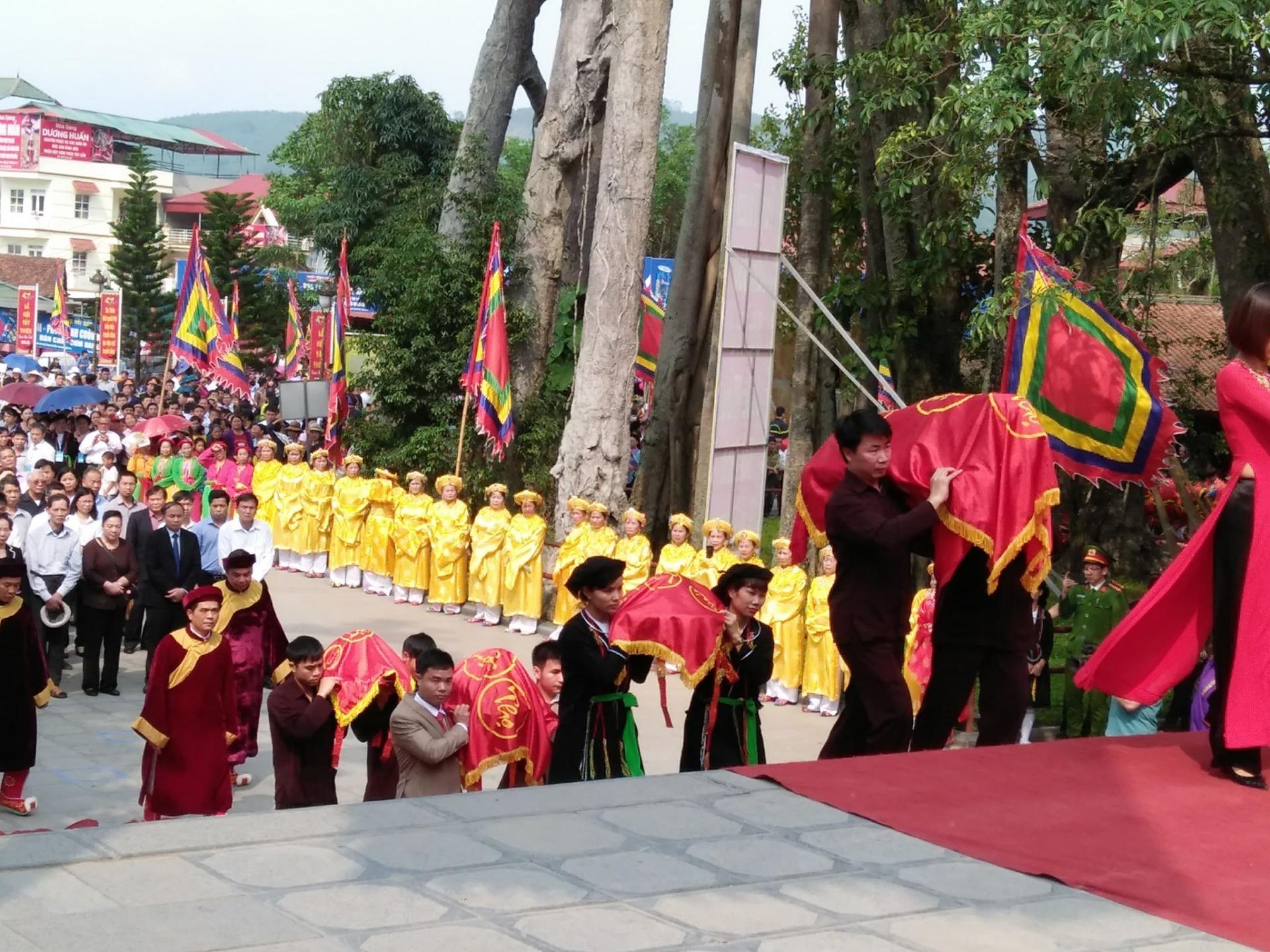 Lễ hội Tây Thiên Xuân Mậu Tuất 2018 chính thức khai mạc