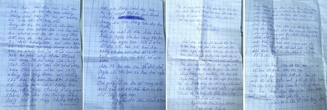 Những dòng thư đẫm nước mắt ông Cường viết dặn dò các con trước lúc tự vẫn bằng thuốc độc