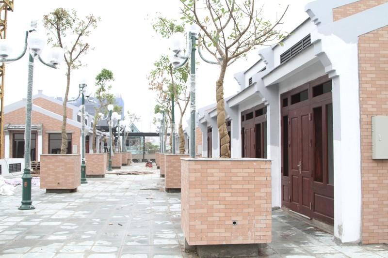 Khu ẩm thực với kiến trúc hiện đại tại tầng mái của chợ Vĩnh Yên