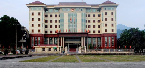 Trụ sở UBND tỉnh Hà Giang