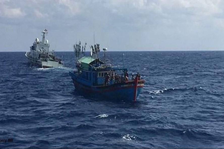 Lực lượng chức năng đang tích cực tìm kiếm 1 ngư dân bị mất tích trên vùng biển Quảng Bình. Ảnh minh họa.